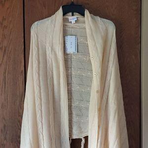 NWT Lularoe Mimi Sweater Knit Wrap